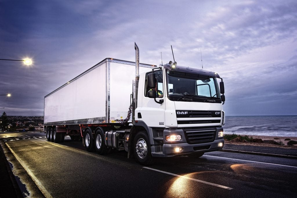 DAF CF85 helps Container Cargo maintain timely customer service 1