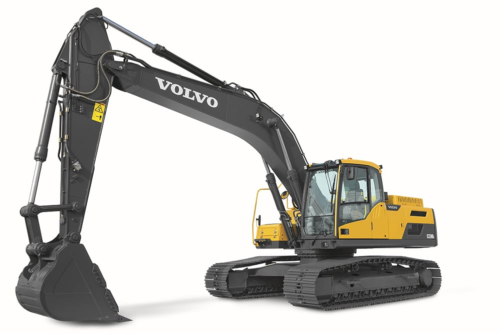 Volvo EC250D 1