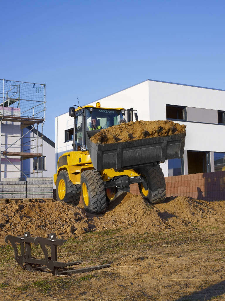 Volvo L35G Compact Wheel Loader