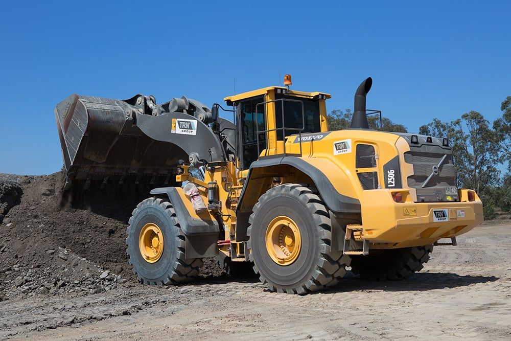 Volvo Wheel Loaders Civil Construction