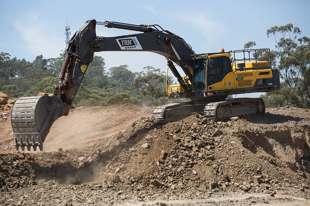 Volvo Excavator TRN Group