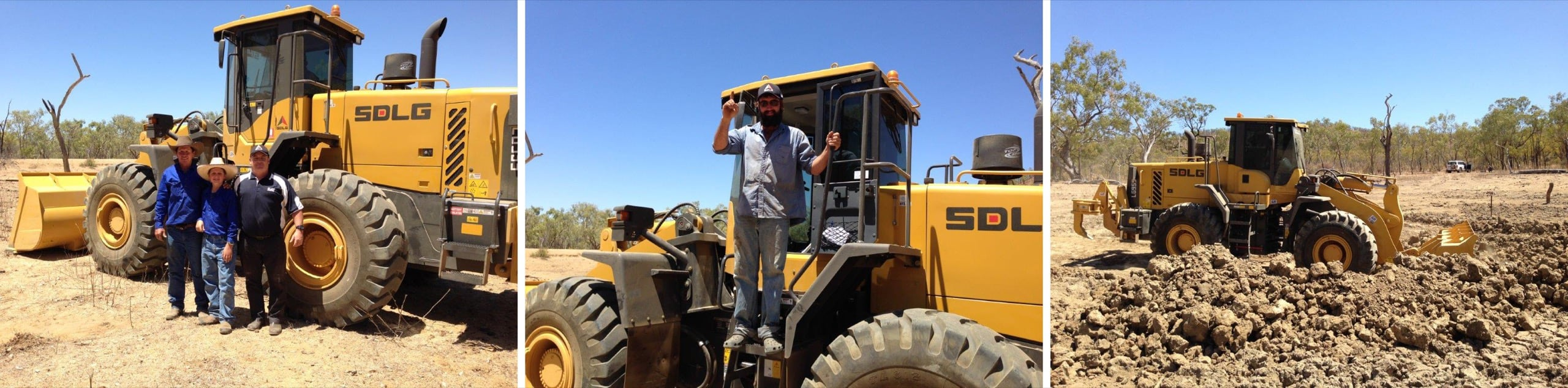 "SDLG wheel loader proves it's not ""all hat and no cattle"" 2"