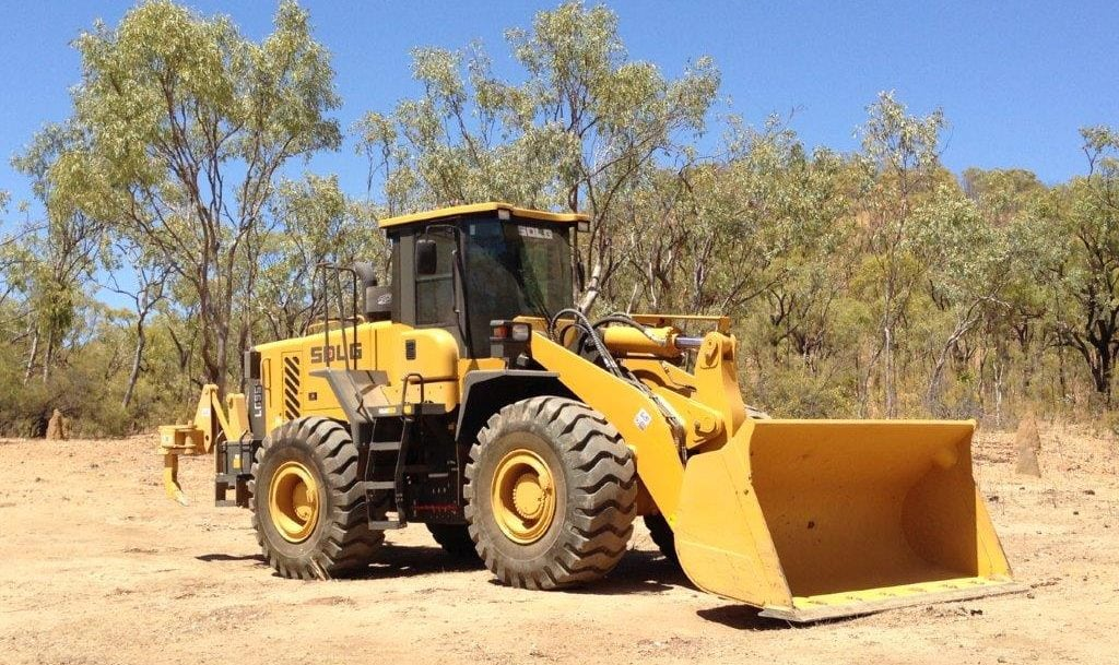 "SDLG wheel loader proves it's not ""all hat and no cattle"" 3"