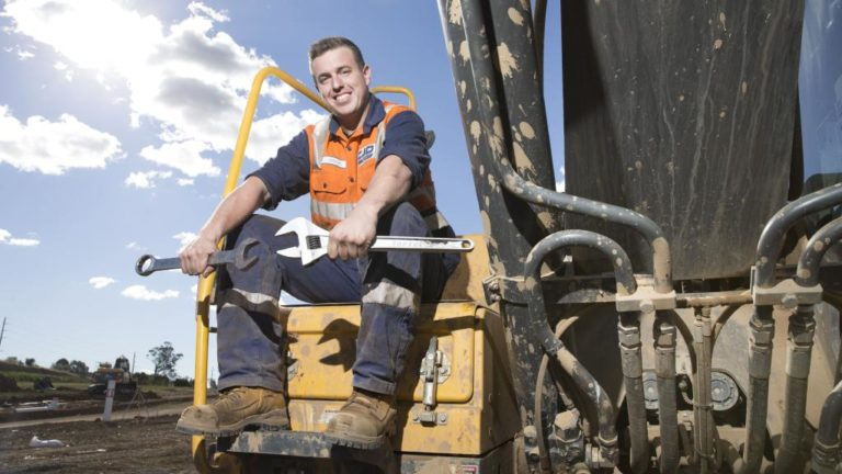 Blake Mulroe is New South Wales' top apprentice 63