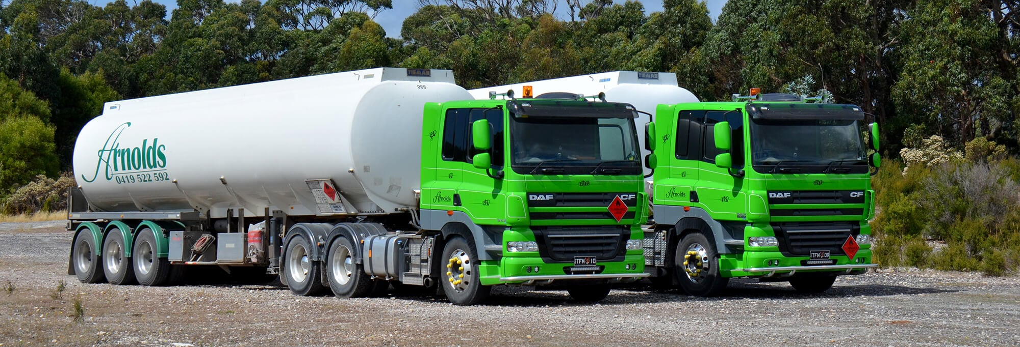 CJD Delivers First DAF CF85 510HP in Australia 6
