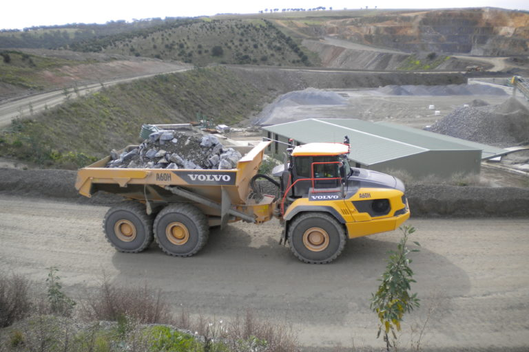 Hallett Resources Save 15% on Cost-Per-Ton with Two A60H Haulers