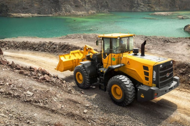 SDLG shows latest machines at Mining Indonesia 11