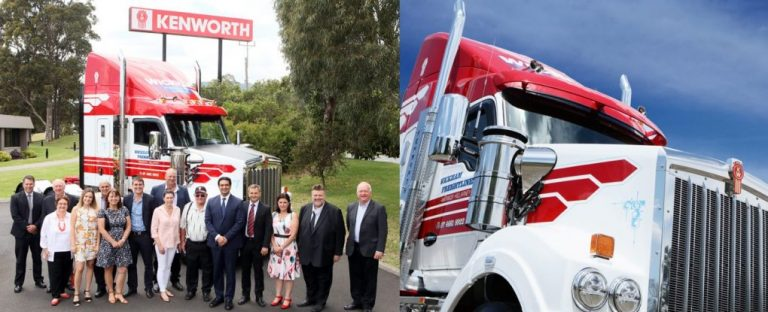 Kenworth Delivers 60,000th Truck 2
