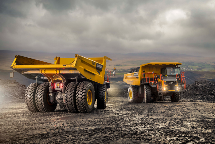 Volvo Launches Own Range of Rigid Haulers 2