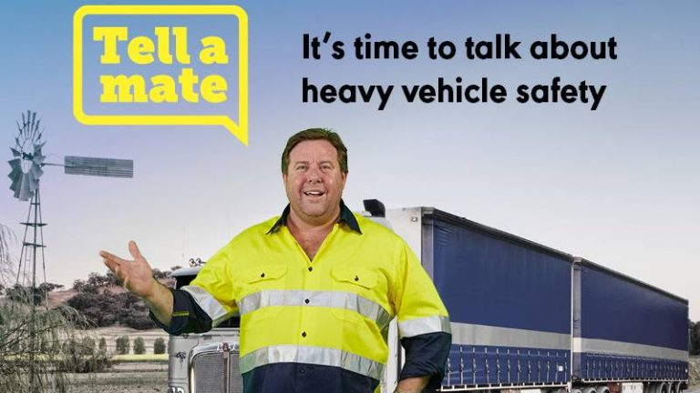 Star Shane Jacobson gets on Board with Trucking's 'Tell a Mate' Campaign 105