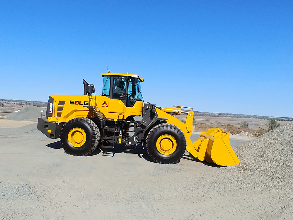 SDLG Launches L958F Wheel Loader in Australia 2