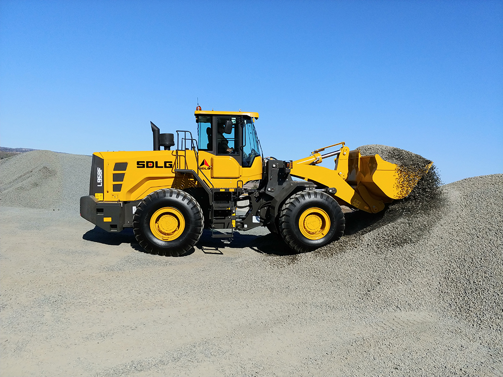 SDLG Launches L958F Wheel Loader in Australia 3