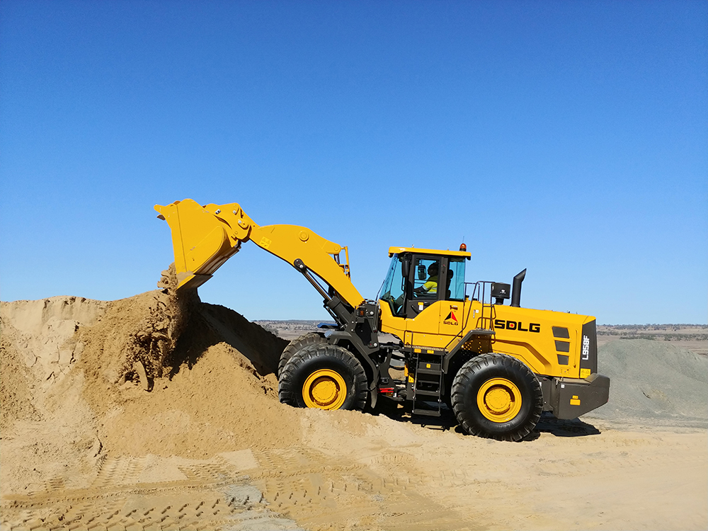 SDLG Launches L958F Wheel Loader in Australia 5
