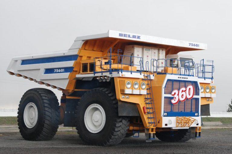 The World's Top 5 Biggest Mining Dump Trucks