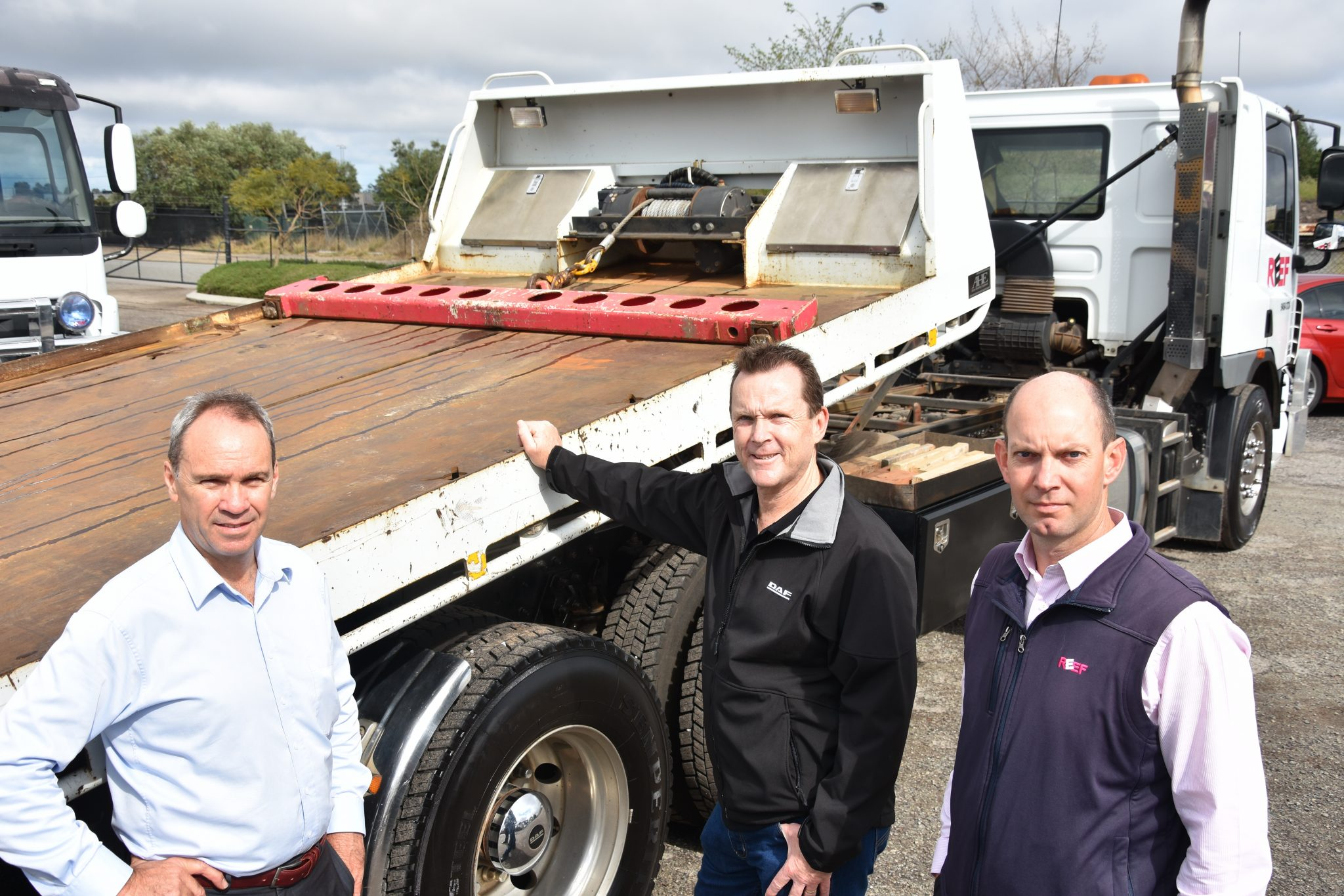 REEF Group on the move with CJD Trucks 10