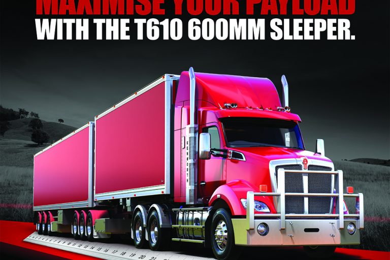 Kenworth adds more flexibility to its range with the release of a new T610 aero roof sleeper cab