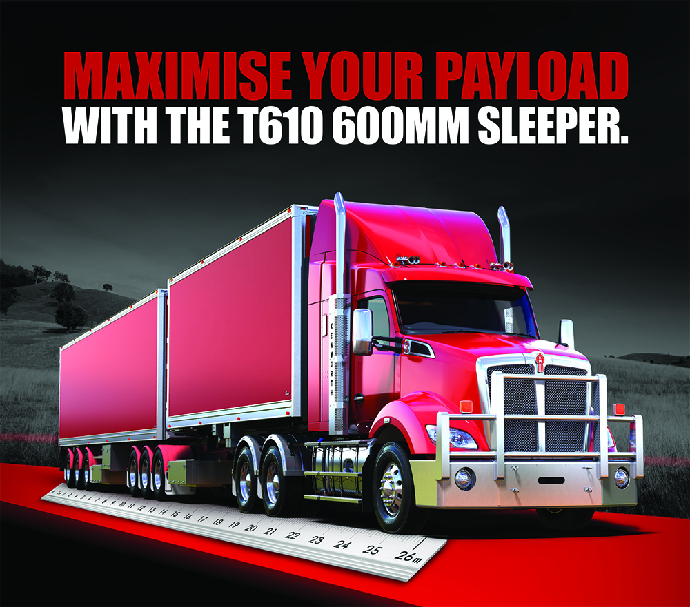 Kenworth adds more flexibility to its range with the release of a new T610 aero roof sleeper cab 3