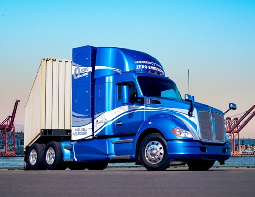Kenworth and Toyota Collaborate To Develop Zero Emission Trucks 78