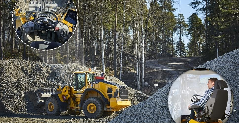 Remote-Controlled Wheel Loaders to be Tested by Volvo CE 1