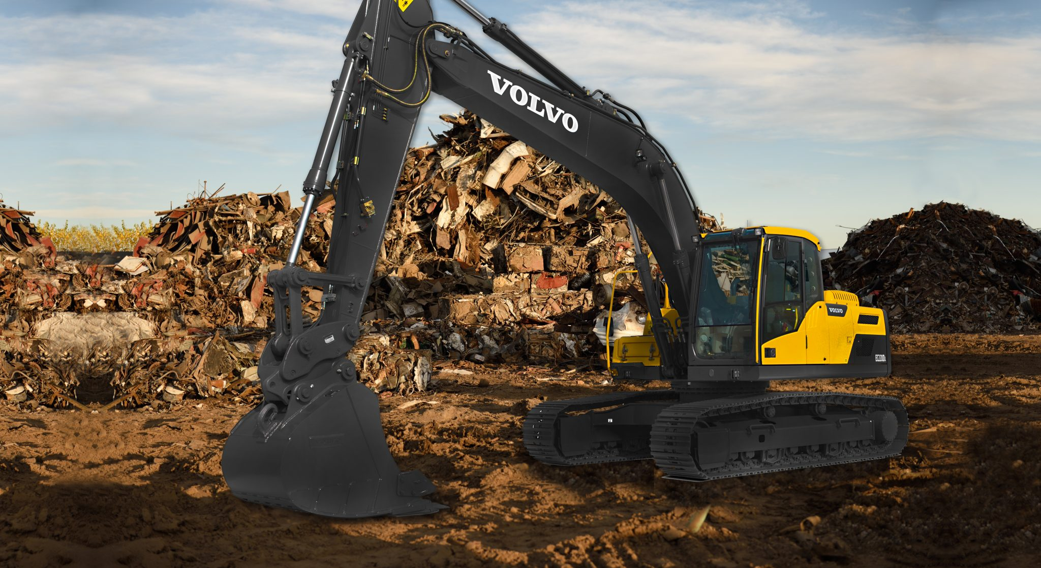 High Performance, Low Fuel Consumption - The Volvo EC220D Excavator 16