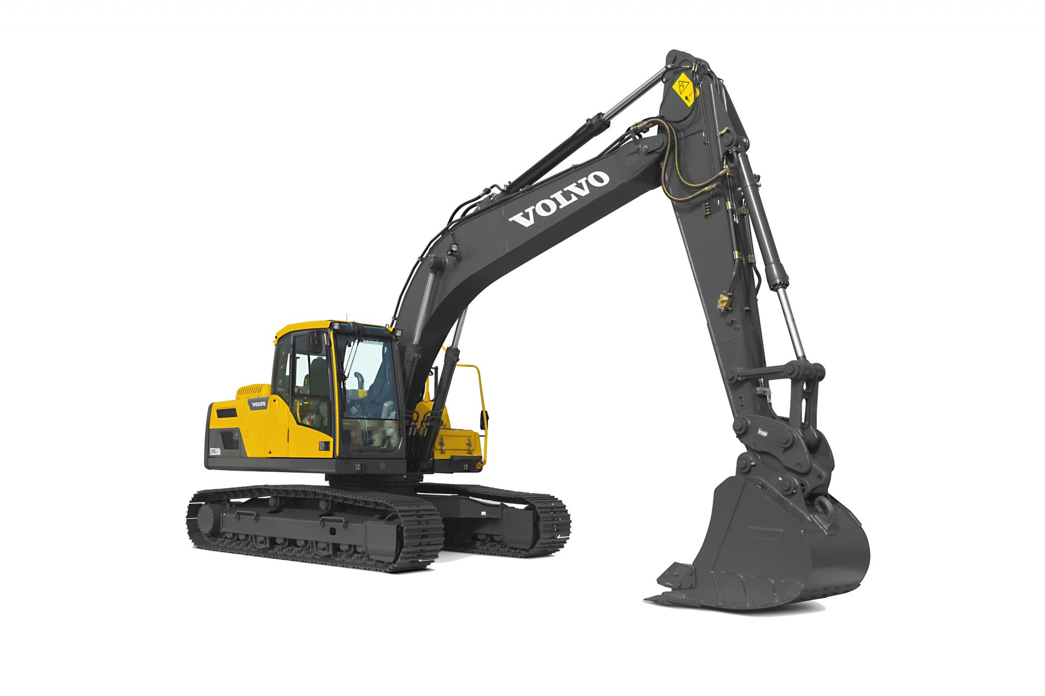 High Performance, Low Fuel Consumption - The Volvo EC220D Excavator 11