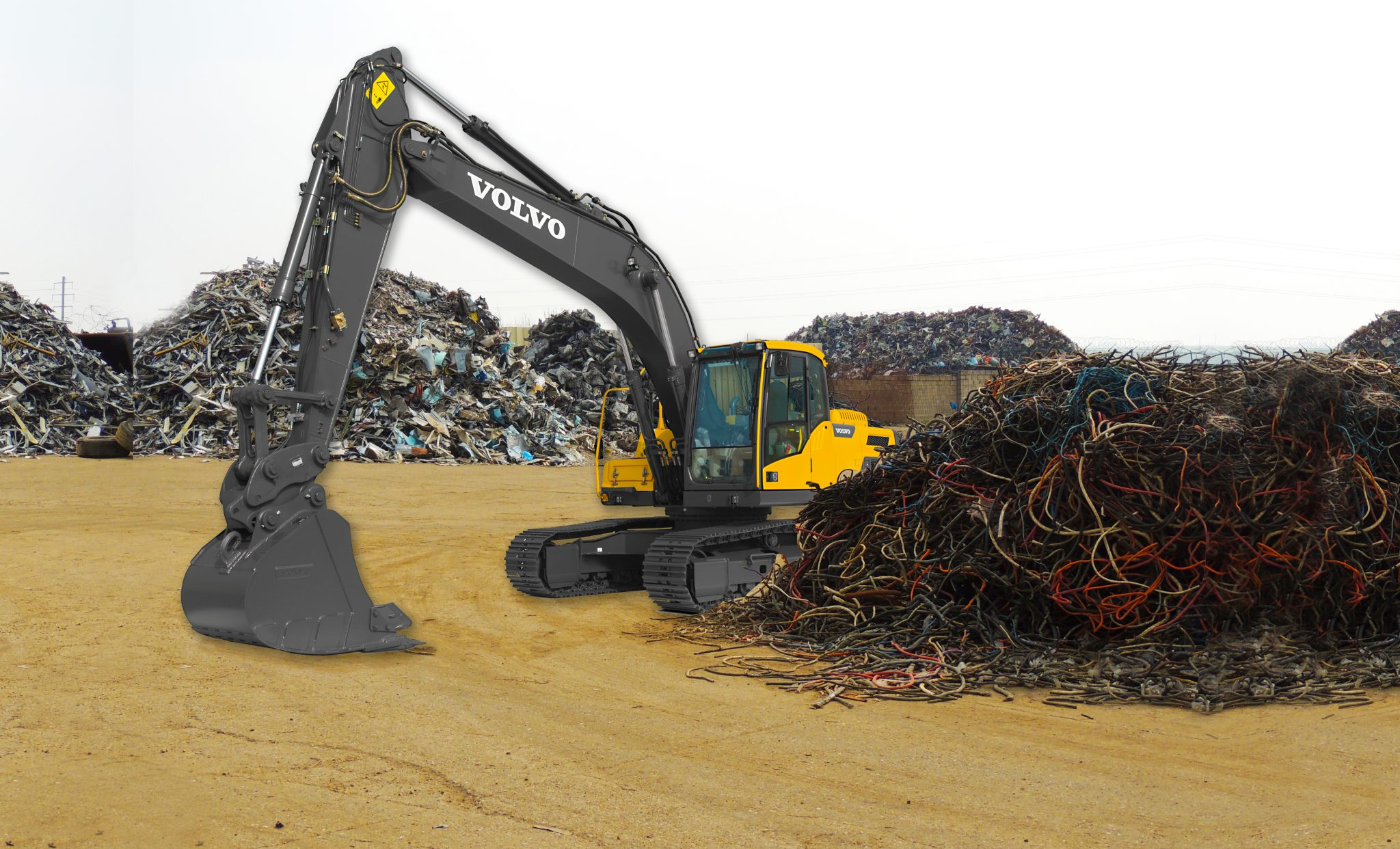 High Performance, Low Fuel Consumption - The Volvo EC220D Excavator 13