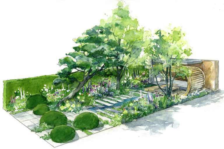 Volvo's Electric Excavator Helps Build the Morgan Stanley Garden at Iconic RHS Chelsea Flower Show