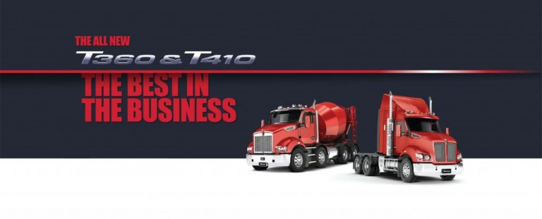 Kenworth Launches the T360 and the T410 45