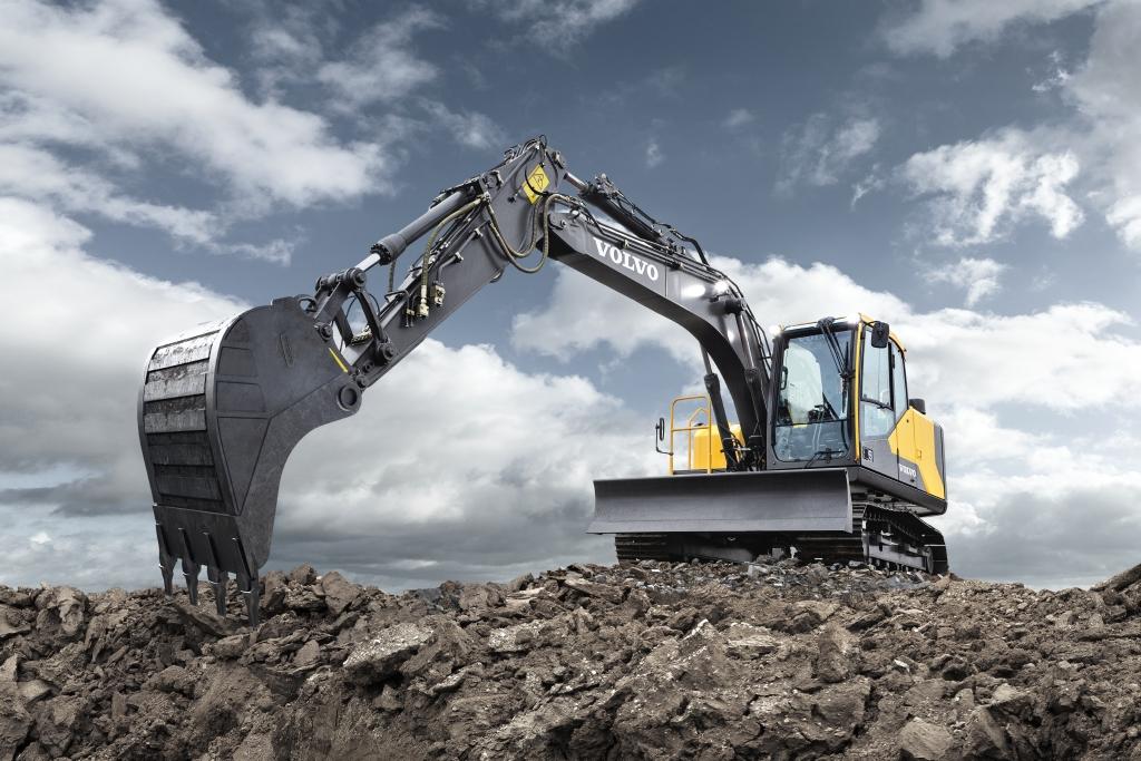 Volvo Excavator EC220E