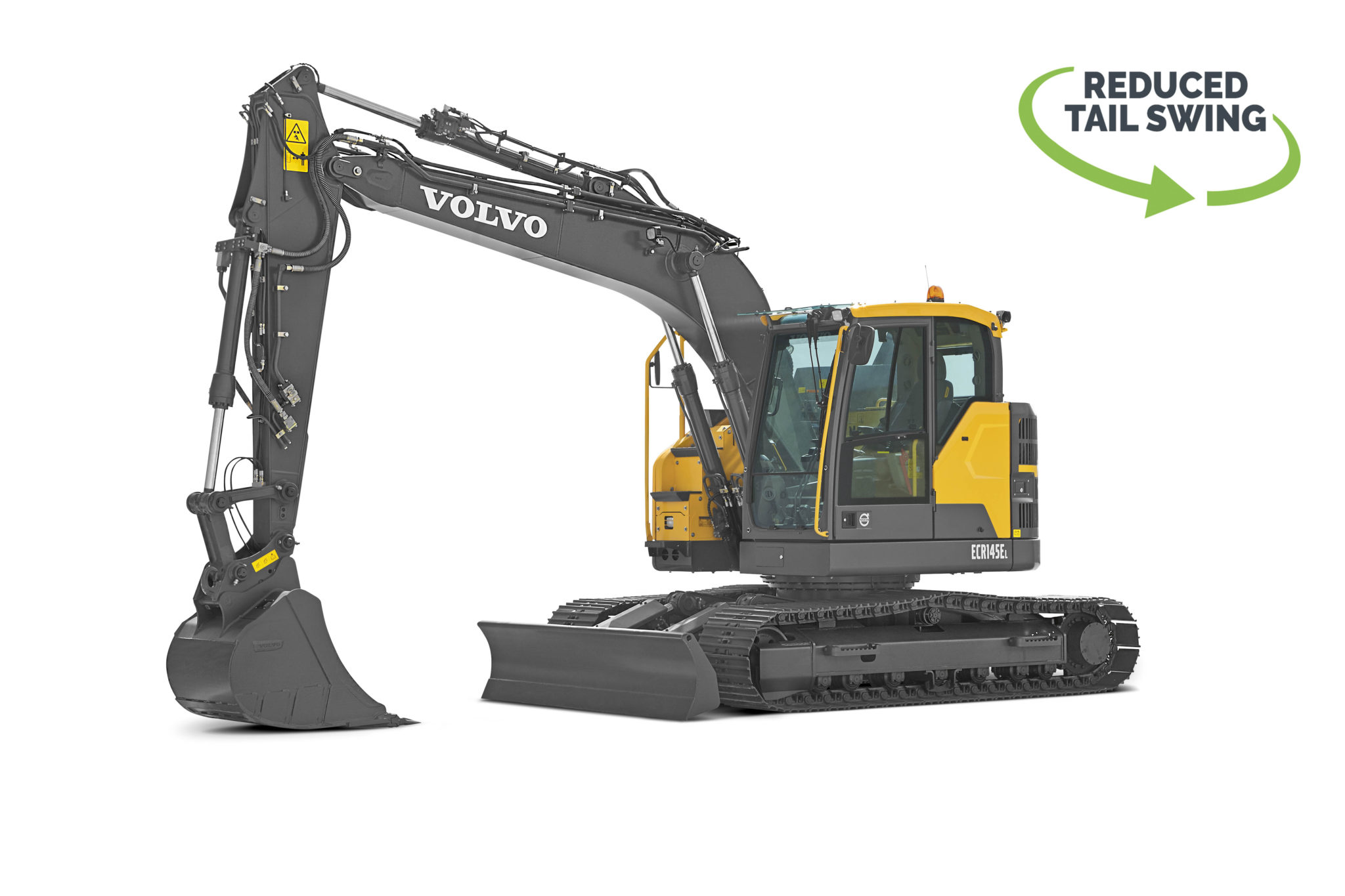 Volvo _ECR145E Reduced Swing Excavator