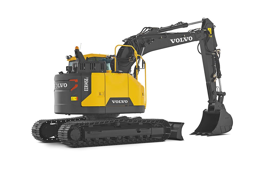 Volvo Excavator ECR145E Reduced Swing