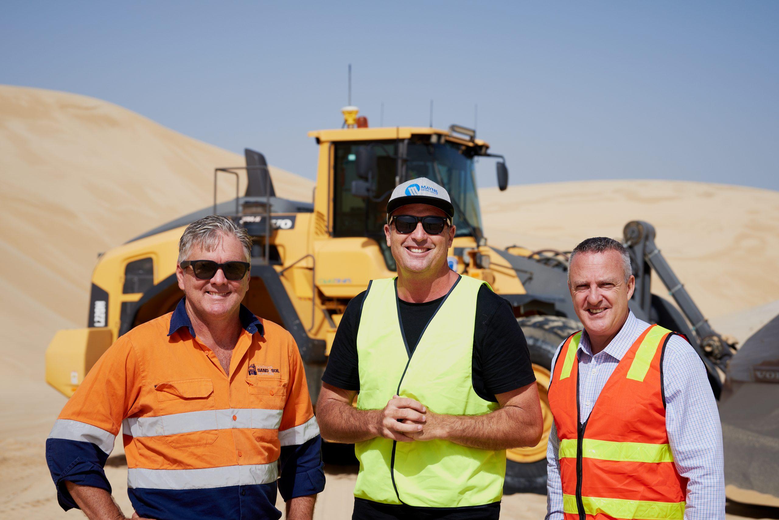 Macka's Sand & Soil Supplies and CJD Equipment 1