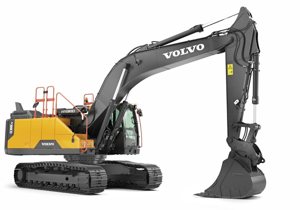 Volvo EC300E Hybrid Excavator