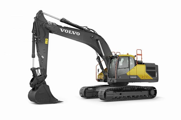 Volvo EC300E Hybrid Excavator – A Novel Hydraulic Hybrid