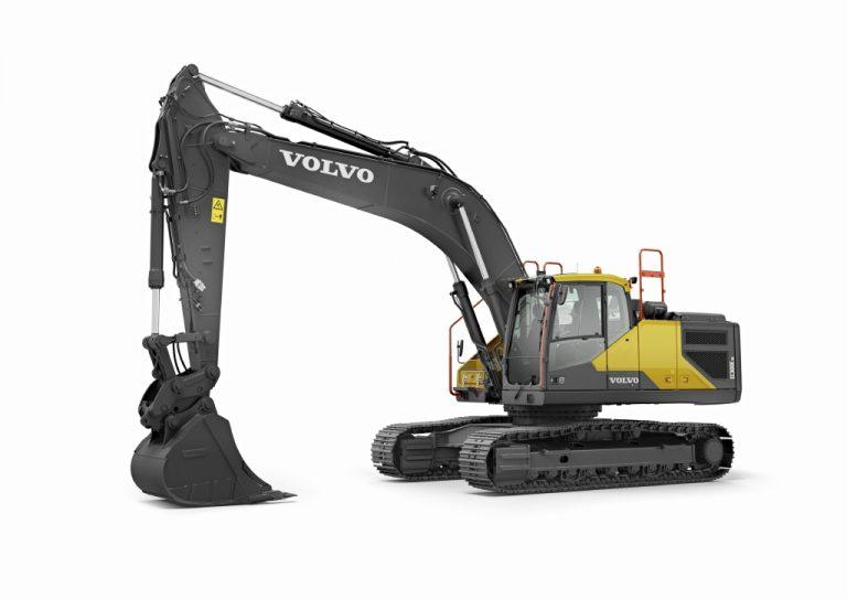 EC300E Hybrid Excavator