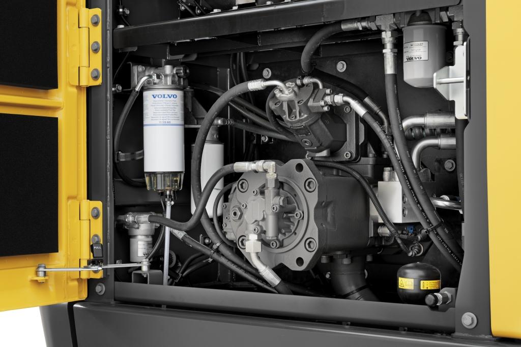 EC300E Volvo Hydraulic Engine