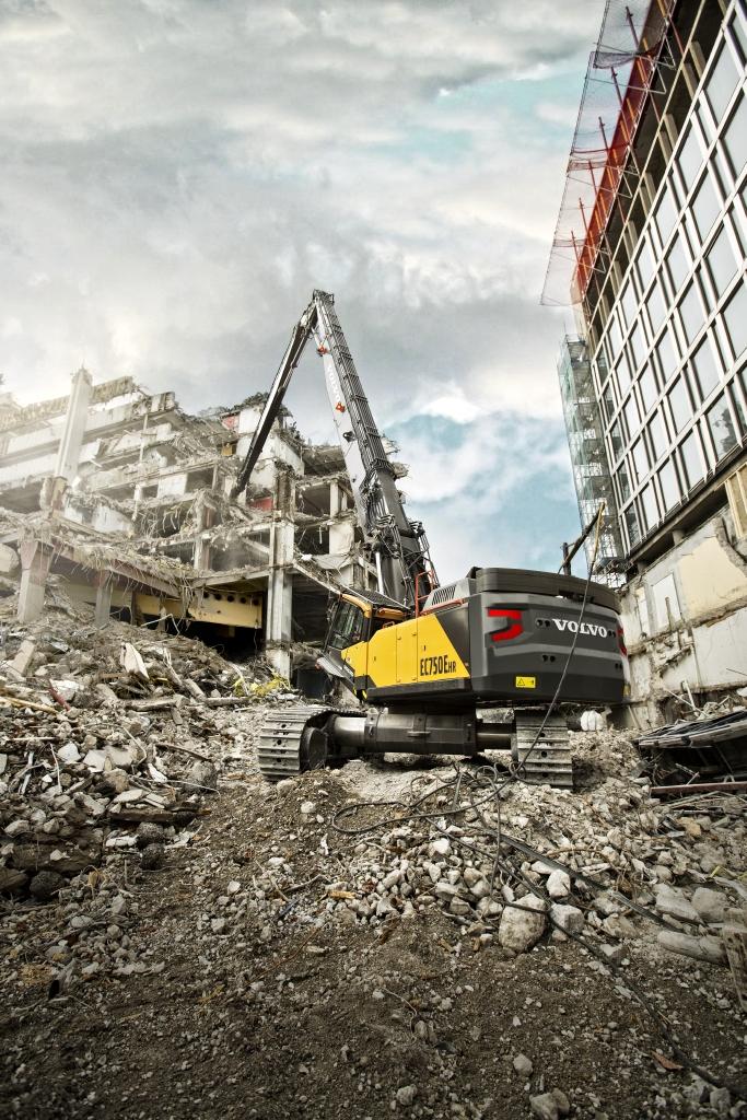 Volvo EC750EHR Demolition Machine