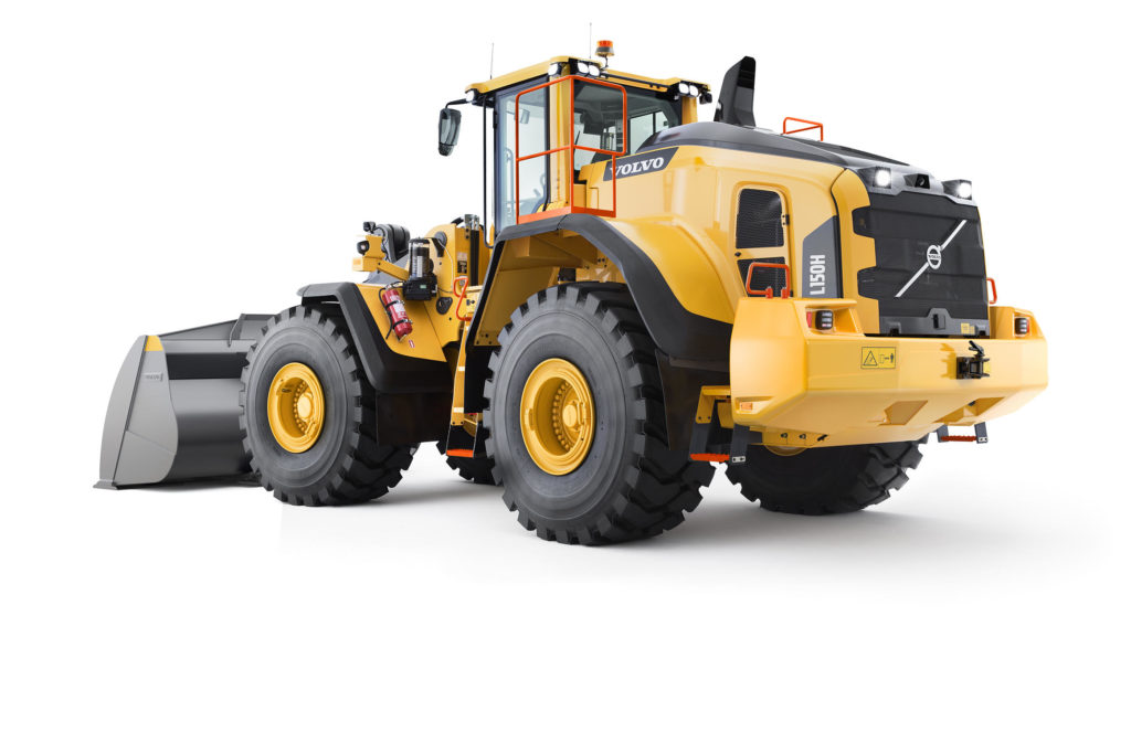 Volvo H-Series Wheel Loaders Receive New Update - L60H to L350H 2