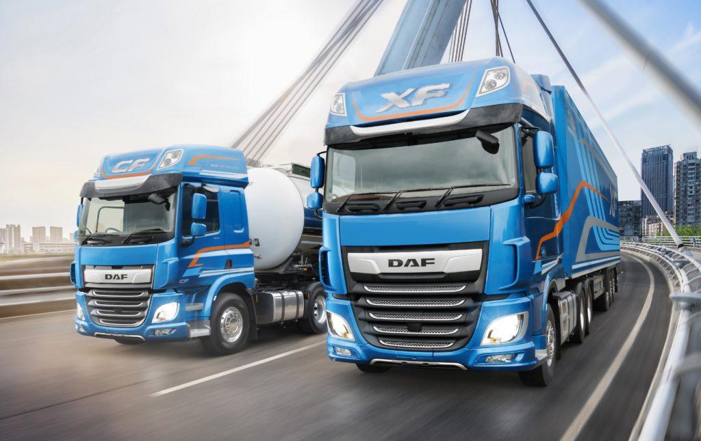 daf highway trucks