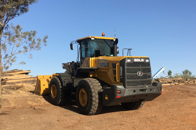 The SDLG L958F Wheel Loader always gets the job done!