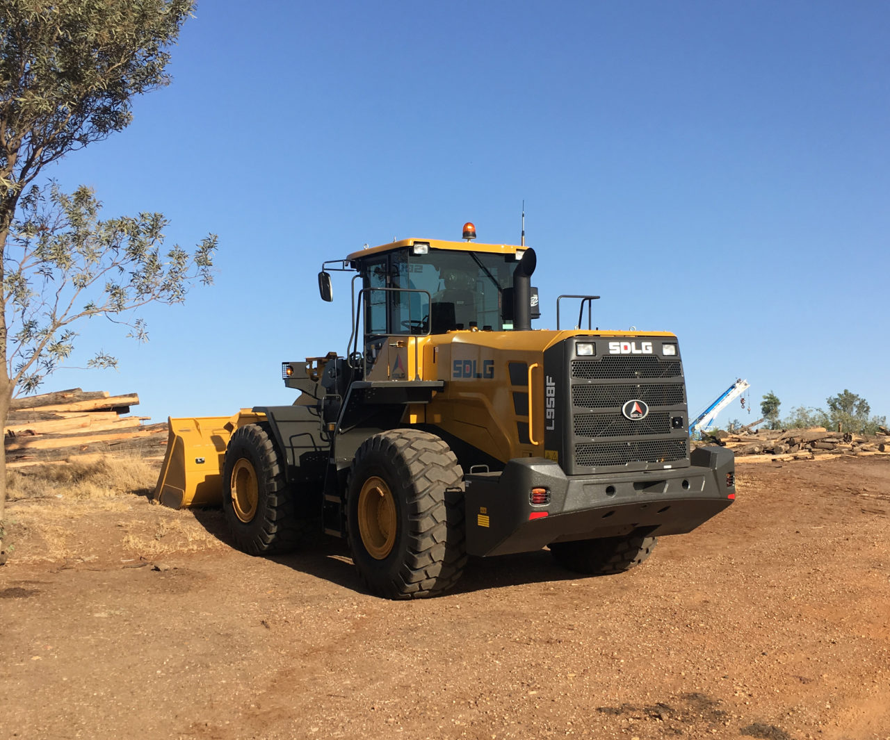 The SDLG L958F Wheel Loader always gets the job done! 49