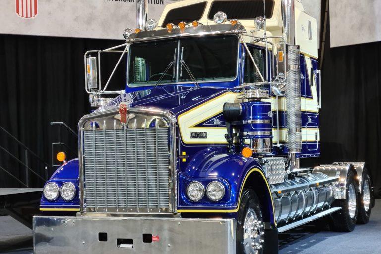 Kenworth 50th Anniversary Edition Legend SAR Truck Unveiled
