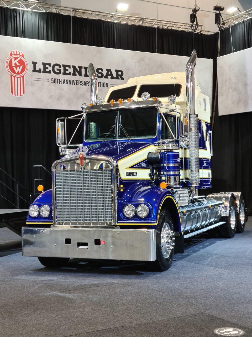 Kenworth 50th Anniversary Edition Legend SAR Truck Unveiled 1